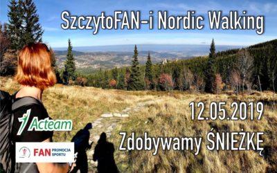 Wyprawa SzczytoFAN-ów Nordic Walking na Śnieżkę