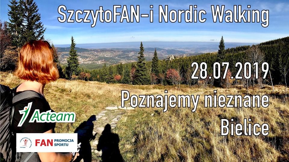 SzczytoFAN-i Nordic Walking – Poznajemy nieznane Bielice