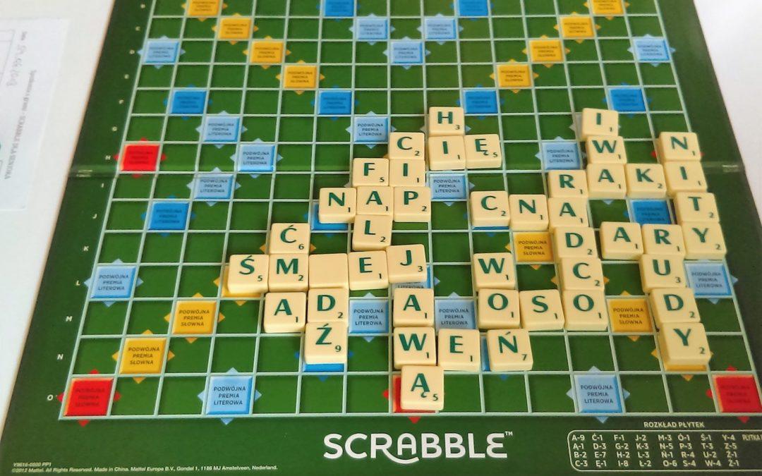 Listopadowy turniej domowy w scrabble