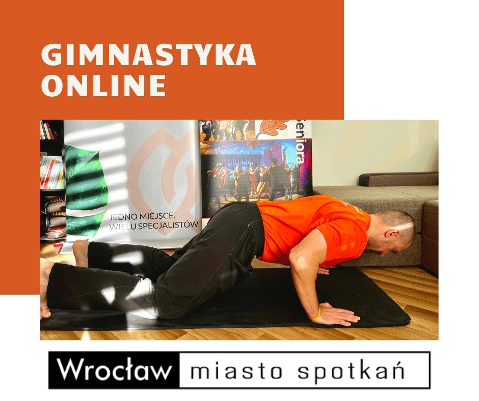 Klub Aktywnego Seniora - cykl zajęć z gimnastyki | ONLINE | Marcin Wroński | WROCŁAW