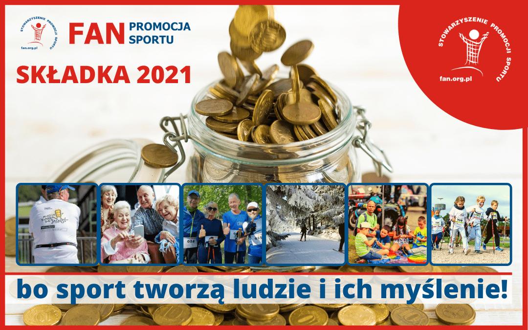 2021 – składki członkowskie