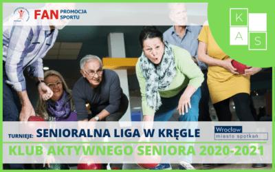 Senioralna Liga w Kręgle – startujemy z nowym sezonem 2021!